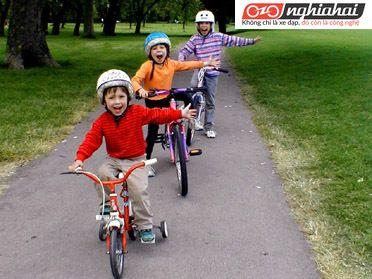 Hướng dẫn mua xe đạp trẻ em phù hợp cho bé 1