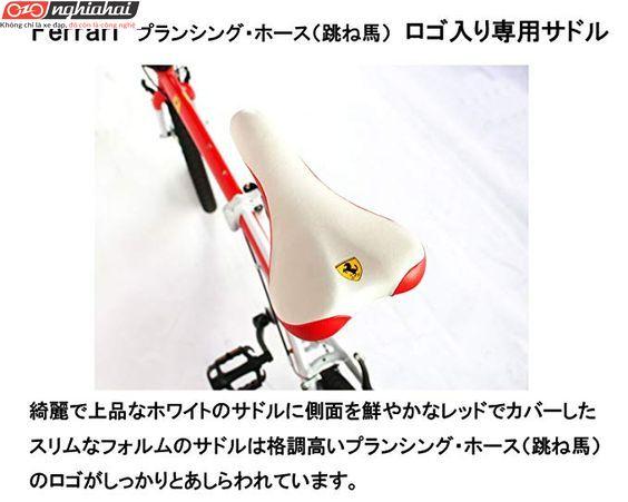 Xe đạp gấp Ferrari 3