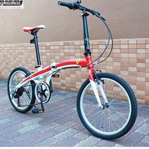 Xe đạp gấp Ferrari 4