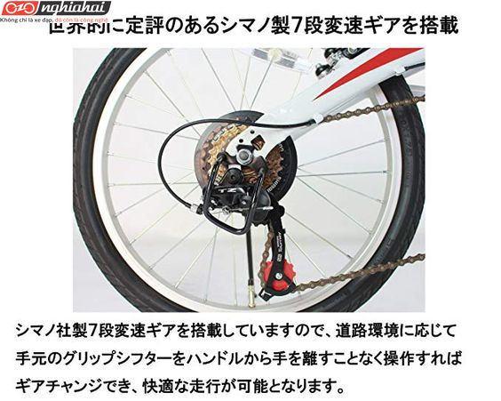 Xe đạp gấp Ferrari 5