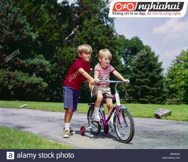 Dạy con hít thở đúng cách khi đạp xe 2
