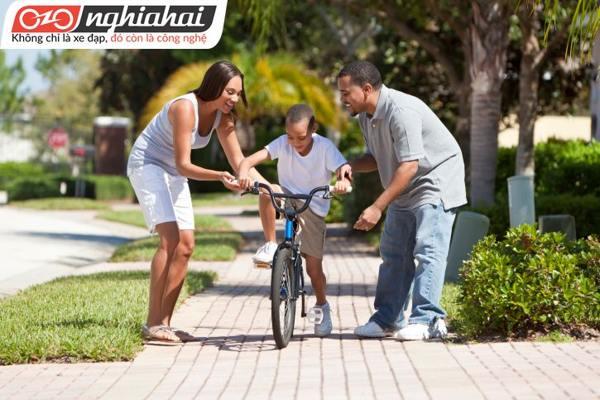 Giới thiệu xe đạp trẻ em leo núi đời mói 2