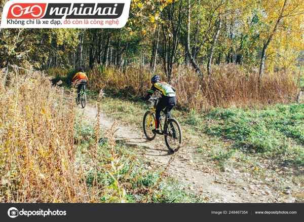 Mẫu xe đạp địa hình đường trường trọng lượng nhẹ 3